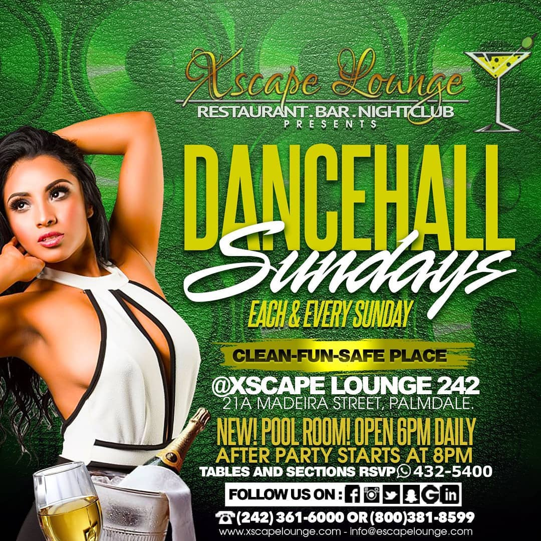 Dancehall Sundays Presented by Xscape Lounge