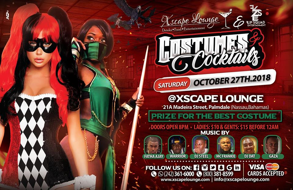 Halloween Parties 2018 by Xscape Lounge