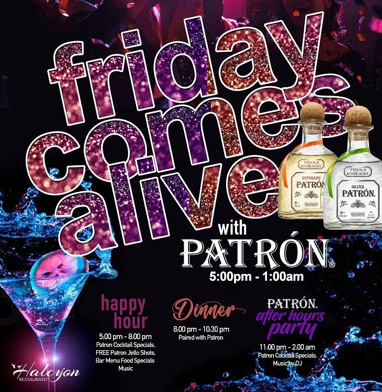 Friday Comes Alive with Patron Hosted by Bristol Wines and Spirits