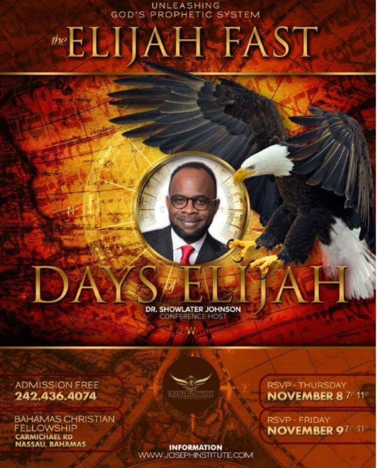 Days of Elijah Nassau Bahamas