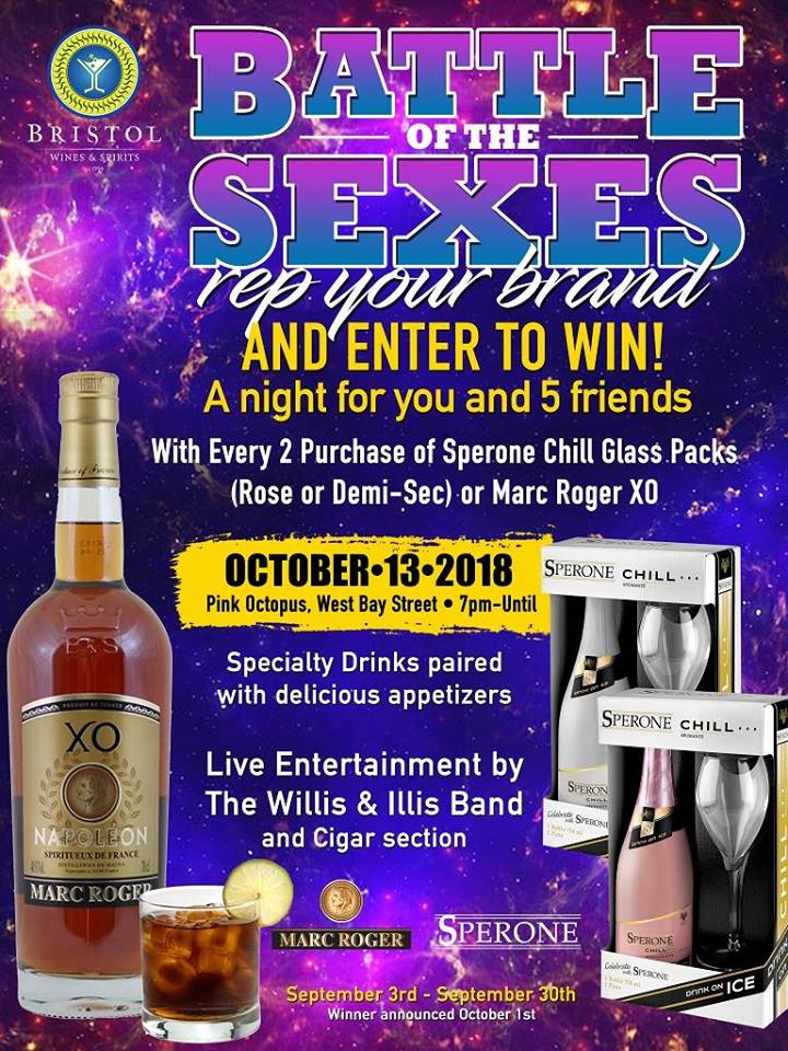 Battle of The Sexes Hosted by Bristol Wines and Spirits