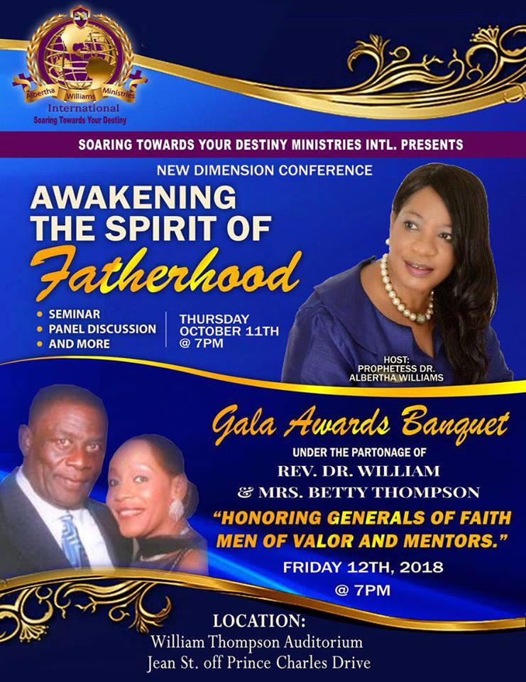 Soaring Towards Your Destiny Conference & Gala Award Banquet