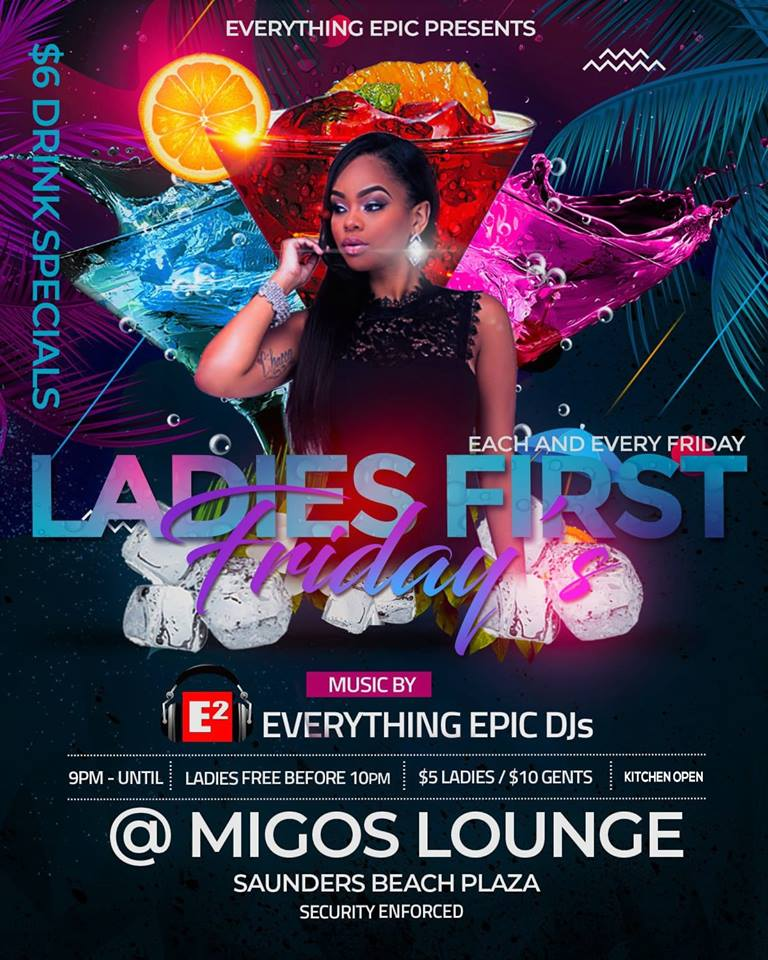 Ladies First Fridays