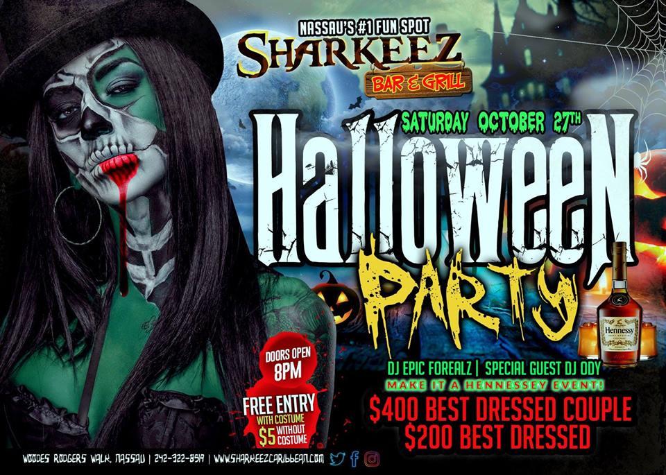 Sharkeez Halloween: Nassau's #1 Fun Spot