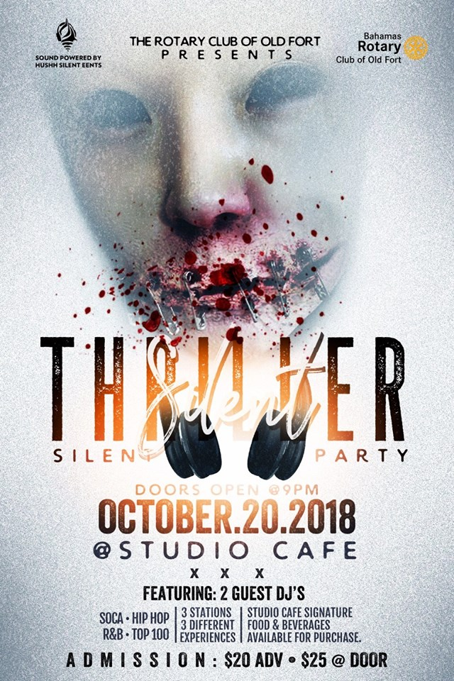Silent Thriller: A Silent Fete Party Hosted by Rotary Club of Old Fort