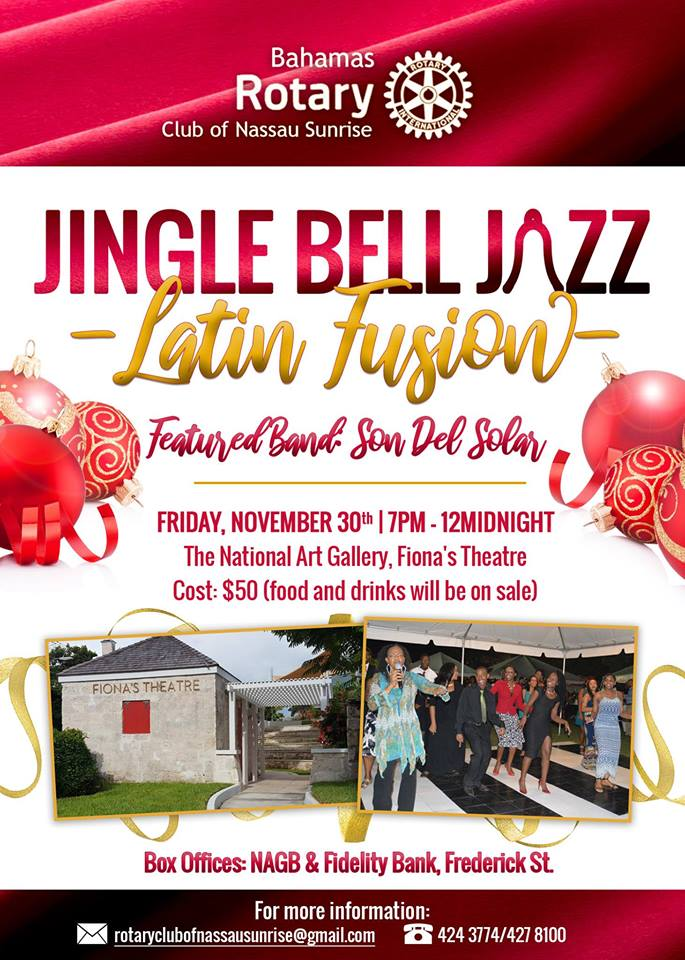 Jingle Bell Jazz: Latin Fusion Hosted by Rotary Club of Nassau Sunrise