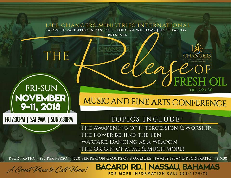 The Release of Fresh Oil Music & Fine Arts Conference