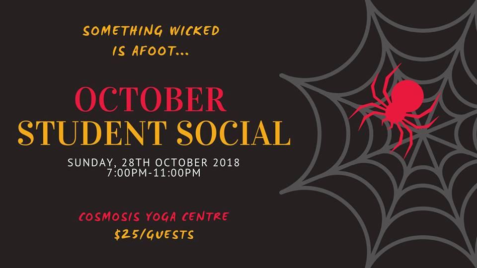 October Student Social  Hosted by NjB Social Dance