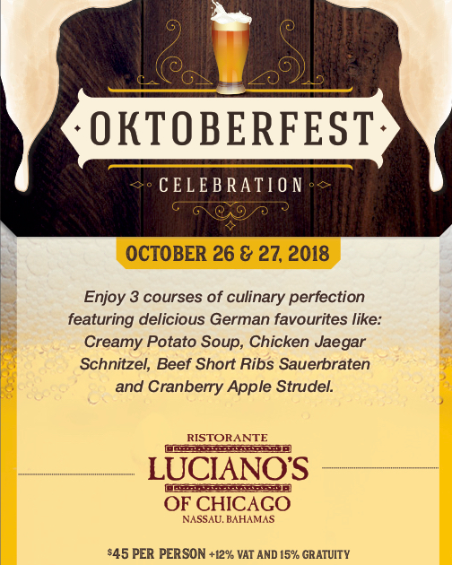Oktoberfest at Luciano's of Chicago