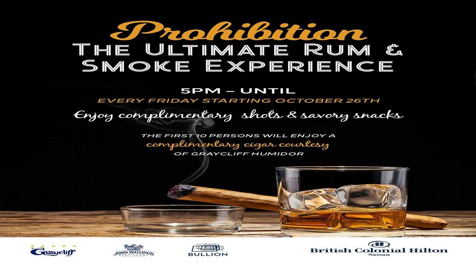 Prohibition: The Ultimate Rum & Smoke Experience