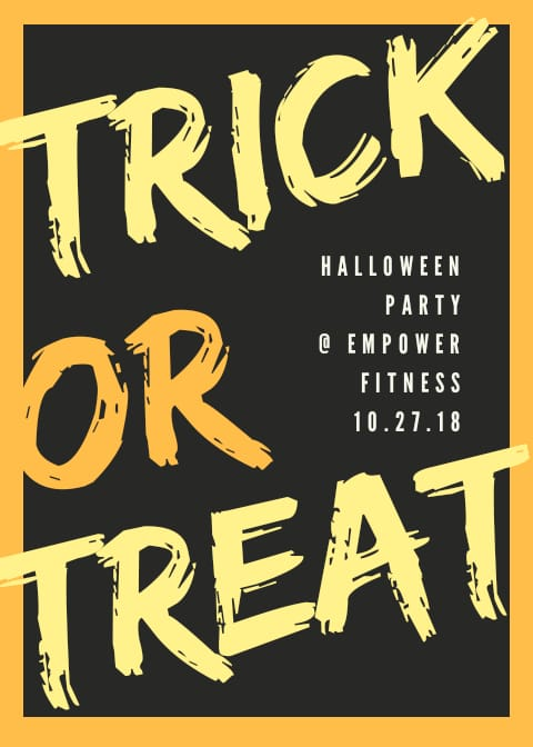 Halloween Party Hosted by Empower Fitness Club
