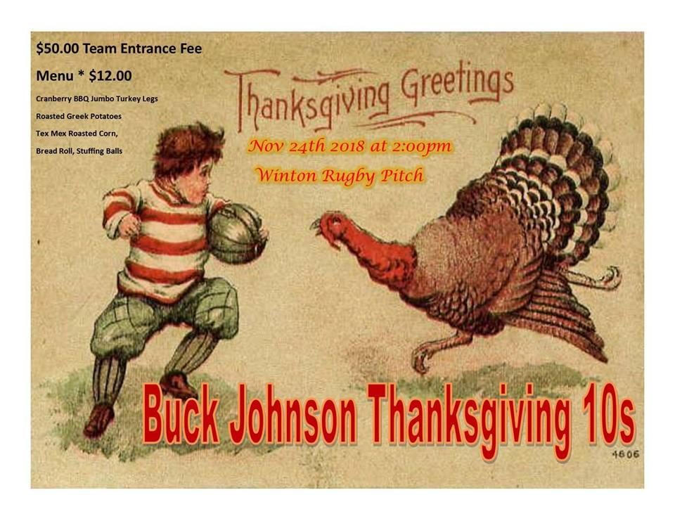Buck Johnson Thanksgiving 10s Tournament
