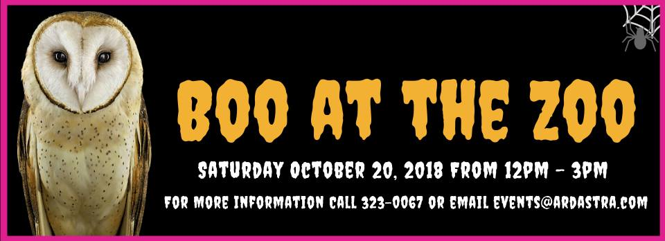Boo at The Zoo! Hosted by Ardastra Gardens, Zoo and Conservation Centre