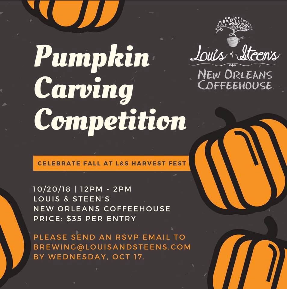 Louis & Steen's Pumpkin Carving Competition