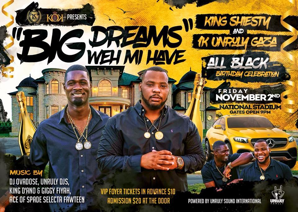Big Dreams Weh Mi Have Presented KIngs of Kings Family