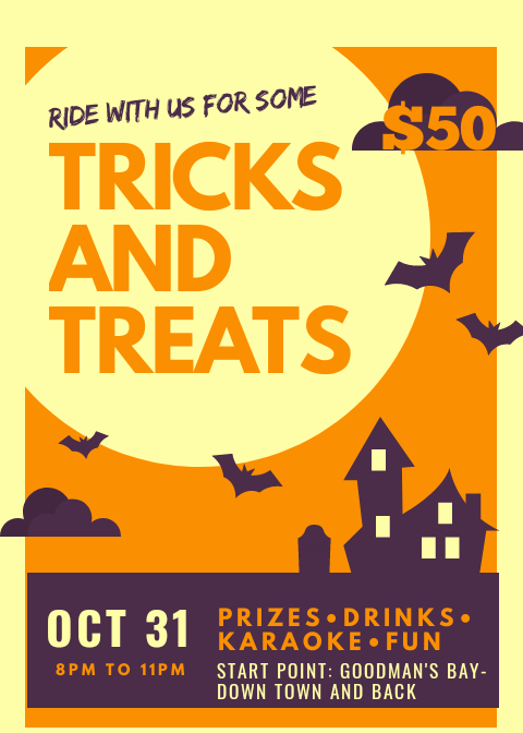 Halloween Fun Trick and Treat Rides