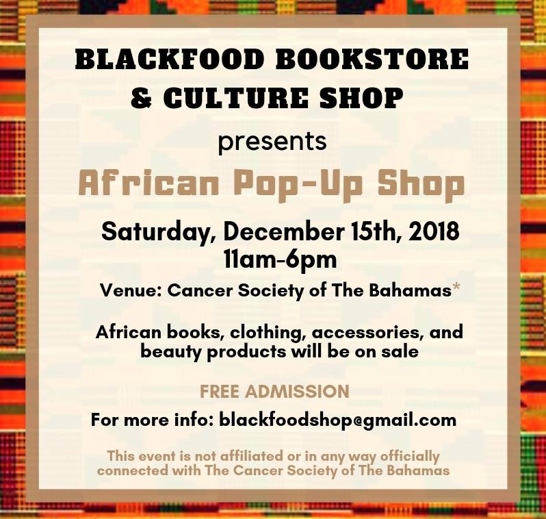 African Pop-Up Shop Hosted by BlackFood Shop