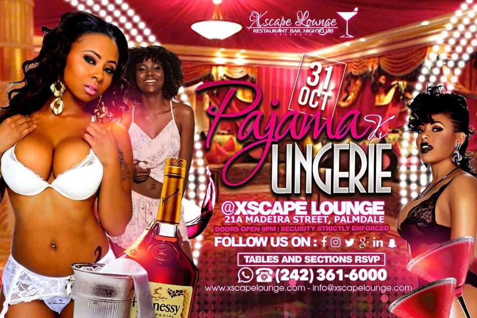 Halloween Pajamas vs Lingerie Party Hosted by Xscape Lounge
