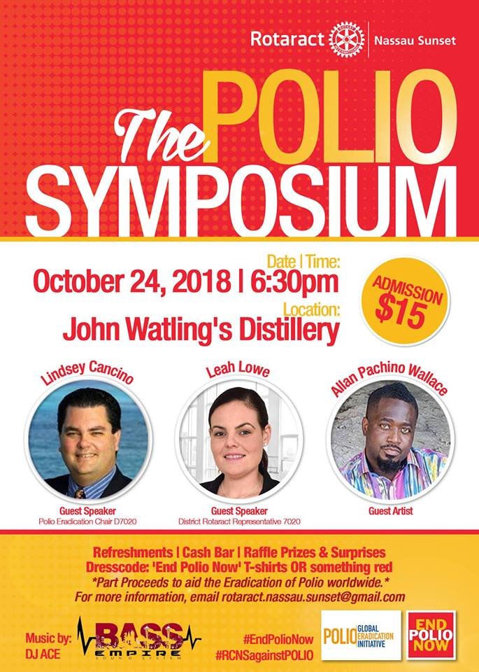 The Polio Symposium Hosted by The Rotaract Club of Nassau Sunset