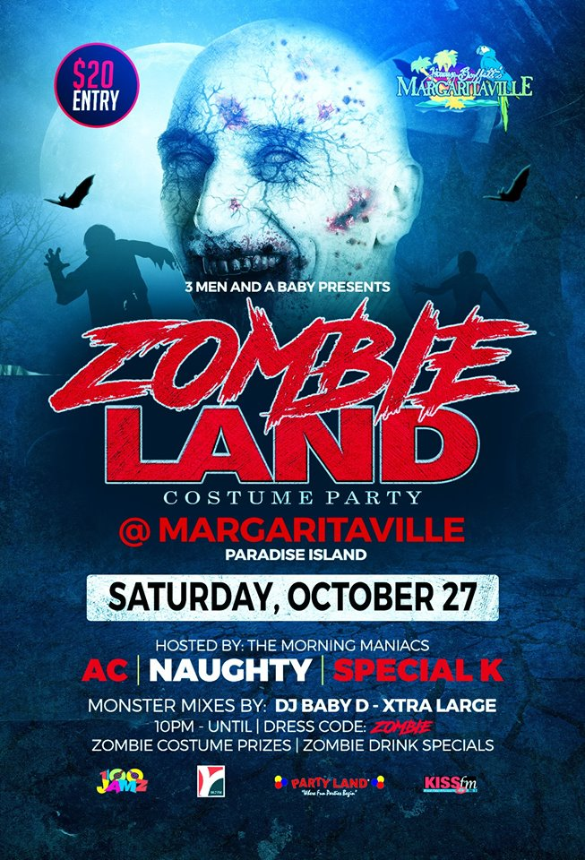 Zombie Land Costume Party