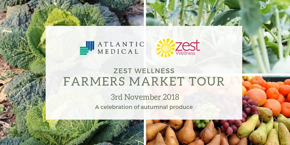 The Farmers Market Tour Hosted by Zest Wellness