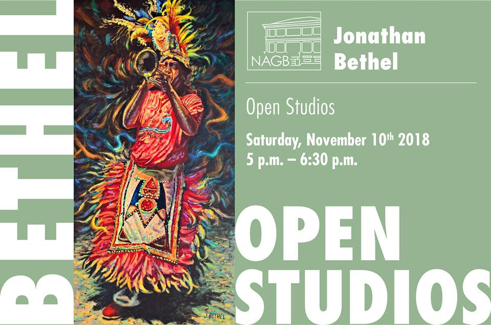 Jonathan Bethel Open Studios Hosted by The National Art Gallery of The Bahamas