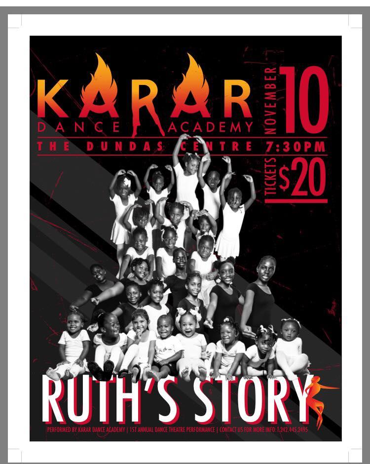 RUTH'S STORY Hosted by Karar Dance Academy