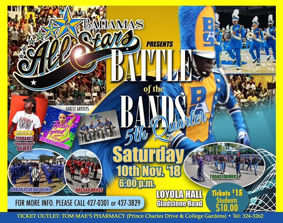 Bahamas All-Stars - Battle of the Bands 5th Quarter 2018