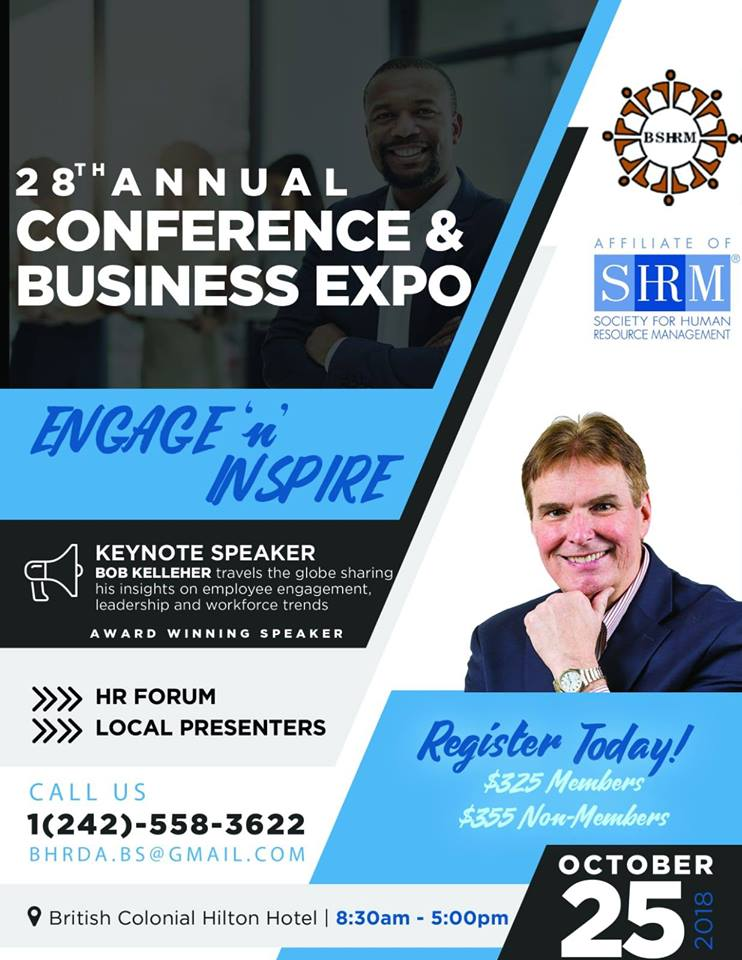 28th Annual Conference & Exposition Hosted by Bahamas Society for Human Resource Management