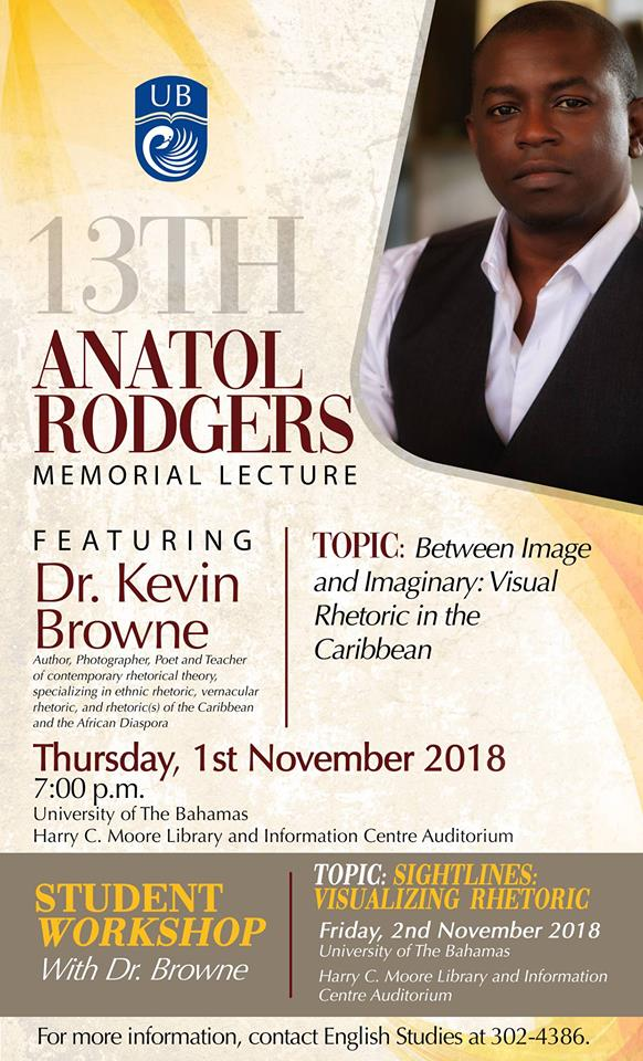 13th Anatol Rodgers Memorial Lecture