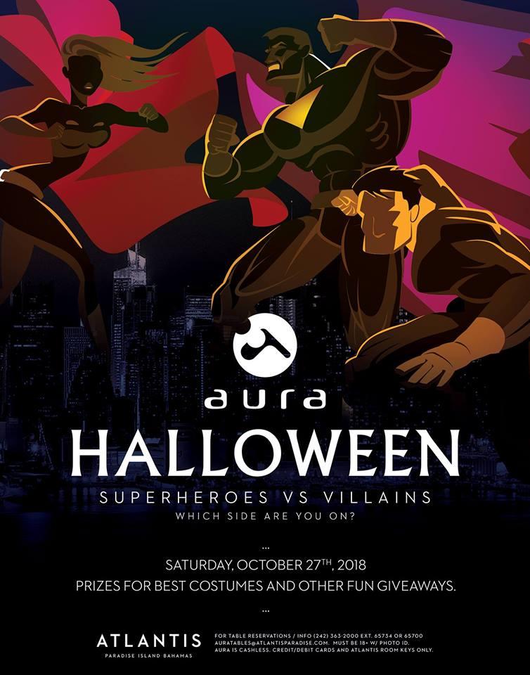 AURA - Halloween!