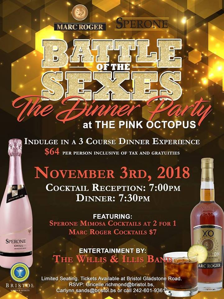 Battle of The Sexes - The Dinner Party Hosted by Bristol Wines and Spirits