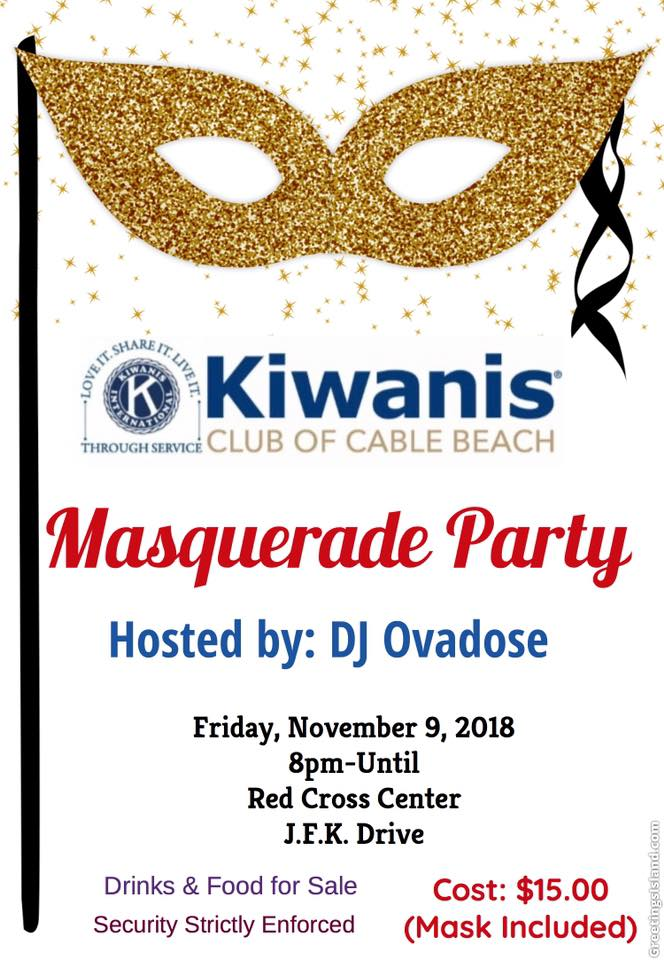Masquerade Party Hosted by DJ Ovadose