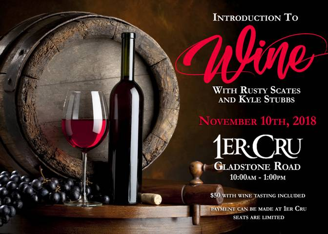 Introduction to Wine Hosted by 1er Cru Nassau