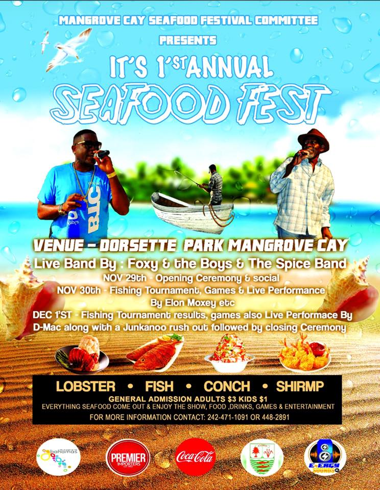 Seafood Festival Hosted by Mangrove Cay Seafood Festival