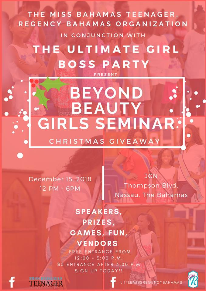 Beyond Beauty Girls Seminar and Christmas Giveaway Hosted by Little & Junior Miss Regency Bahamas