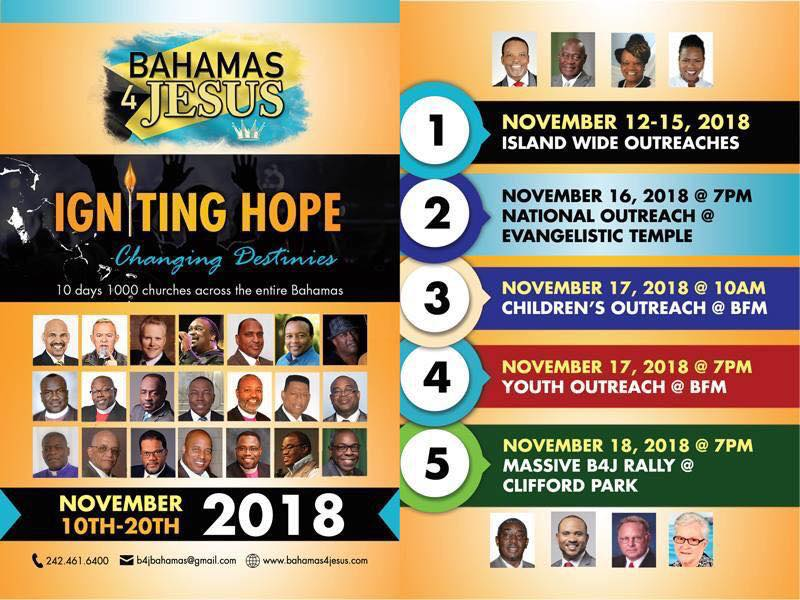 Igniting Hope: Changing Destinies Hosted by Bahamas4Jesus