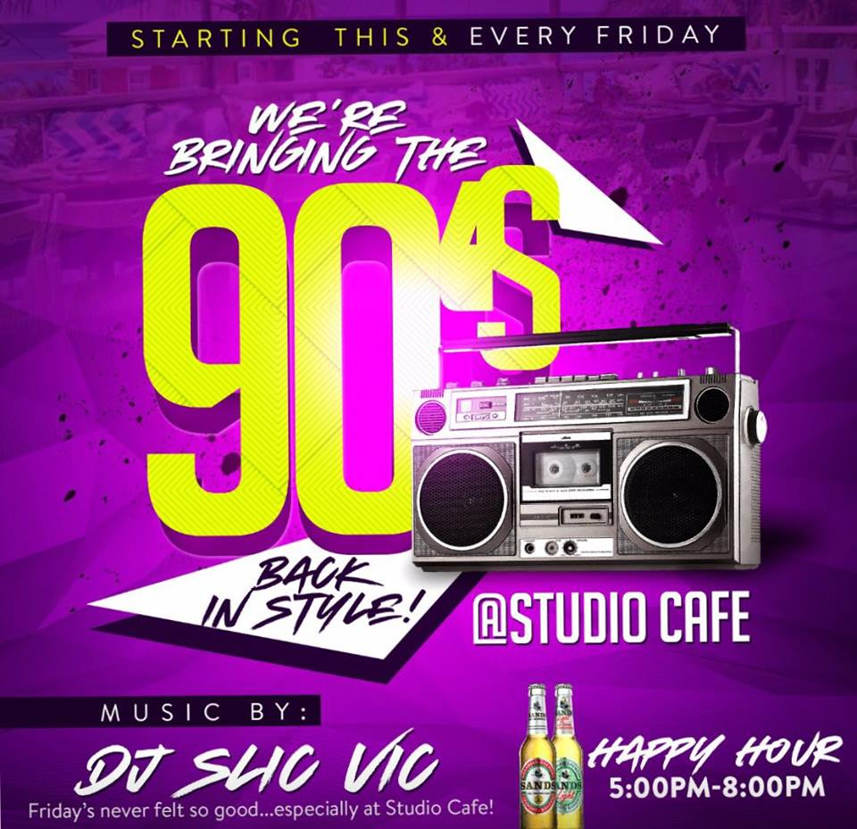 We're Bringing The 90's Back In Style! At Studio Cafe