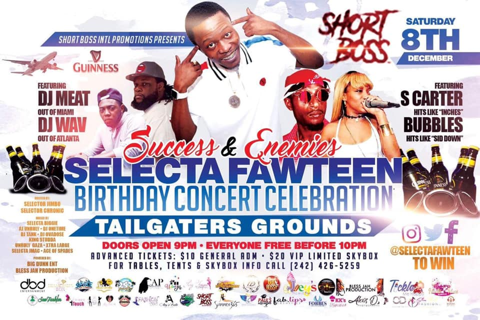 Success & Enemies: Selecta Fawteen Birthday Celebration