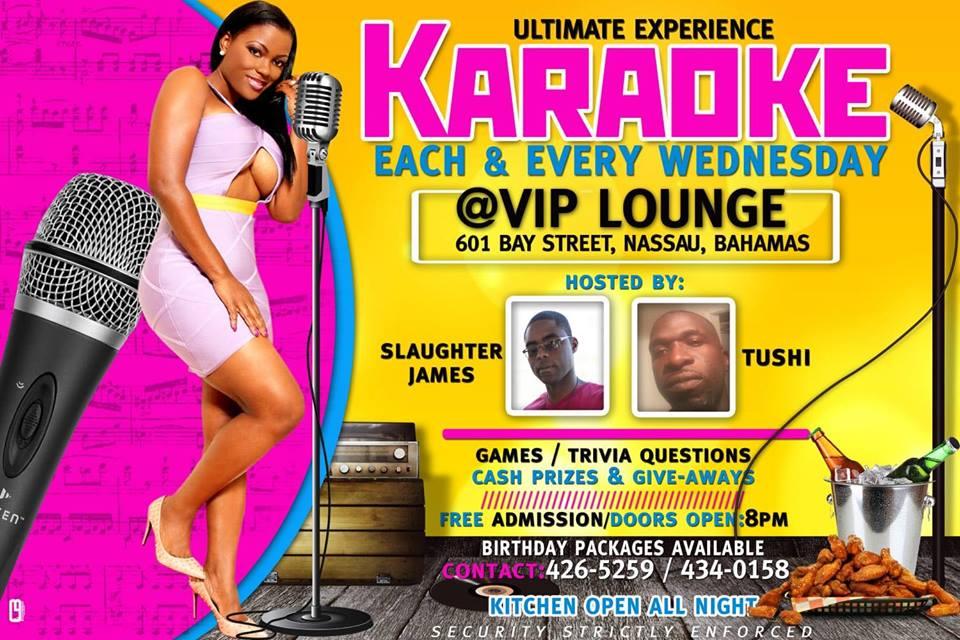 Karaoke at VIP Lounge