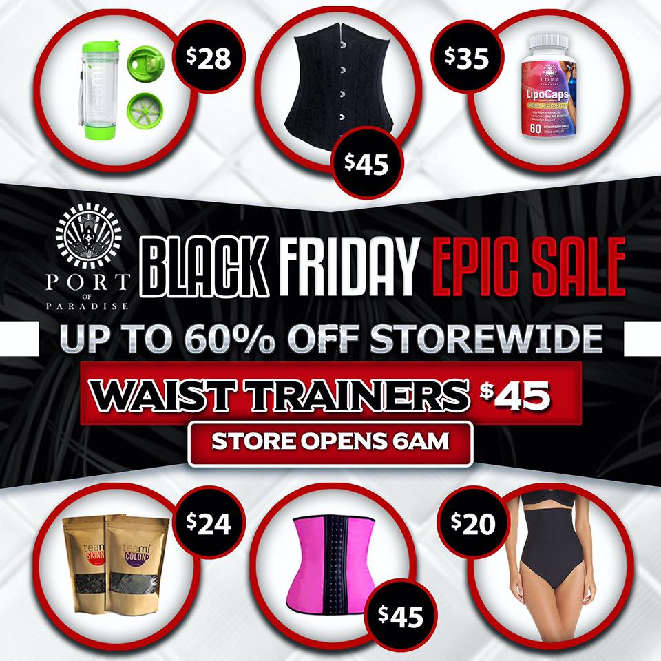 Black Friday Blowout Sale!!! Hosted by Port of Paradise