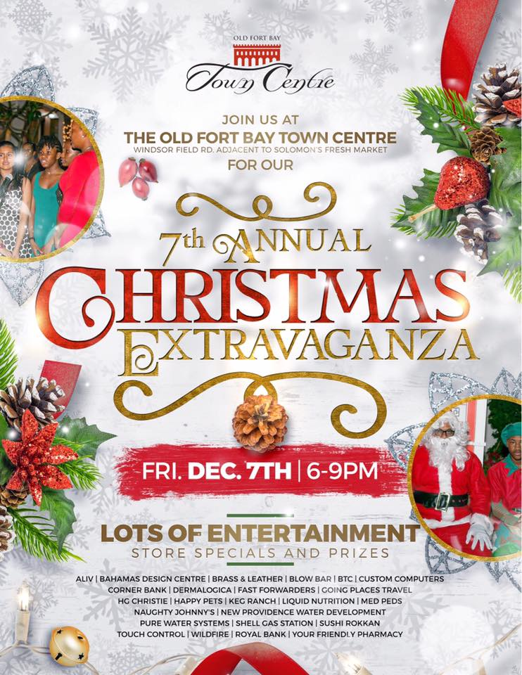 7th Annual Christmas Extravaganza at Old Fort Bay Town Centre