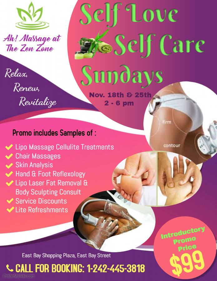 Self Love, Self Care Sundays Hosted by Ah Massage at The Zen Zone