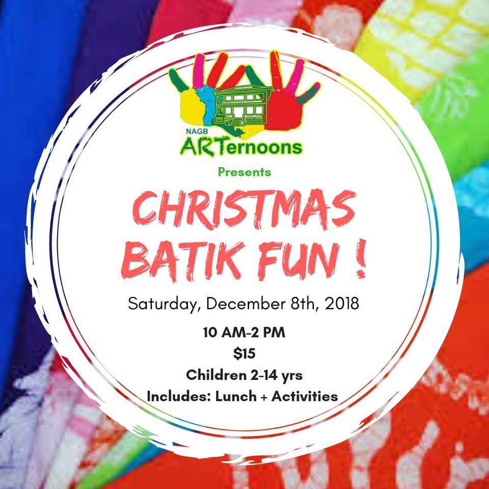 NAGB Arternoons: Christmas Batik Fun!