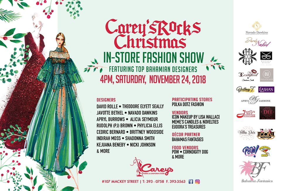 Carey's Rocks Christmas In-Store Fashion Show