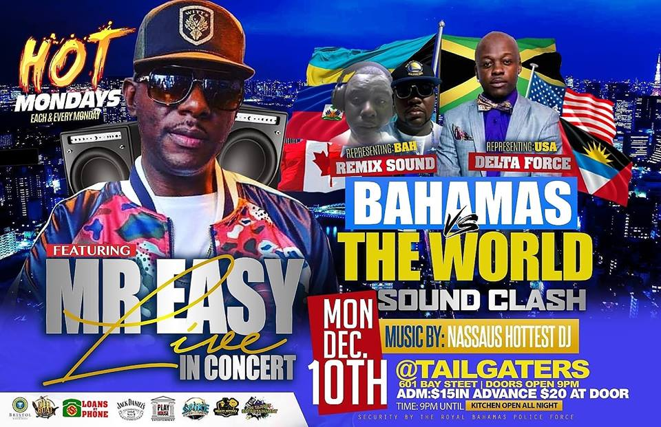 BAHAMAS VS THE WORLD: Sound Clash