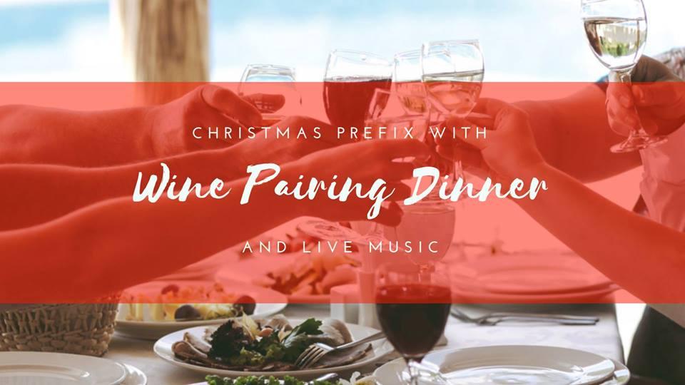 Christmas Dinner at Pink Sands Resort