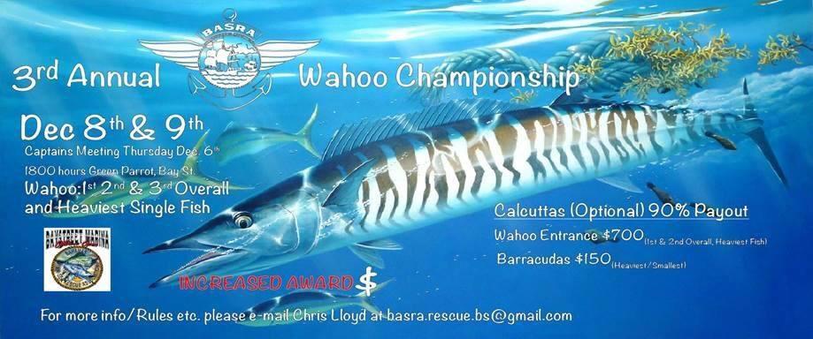 BASRA Wahoo Championship Hosted by Bay Street Marina