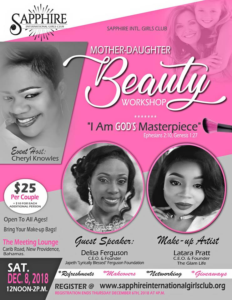 Mother-Daughter Beauty Workshop Hosted by Sapphire International Girls Club