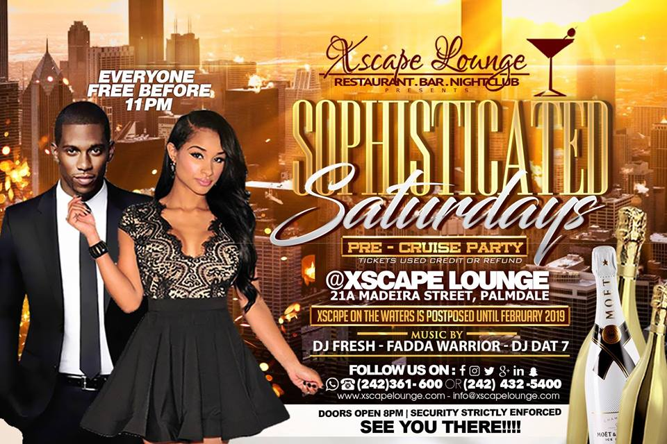 Sophisticated Saturdays | Xscape Lounge